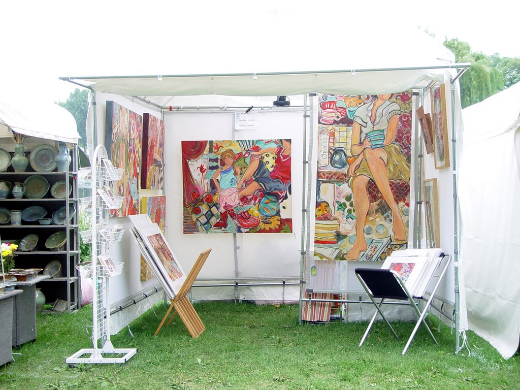 Artist Journal  sc 1 st  Christina Hankins & Artist Journal: The Big New Tent